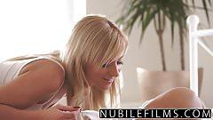 NubileFilms Horny Blonde Makes Big Brother Cum