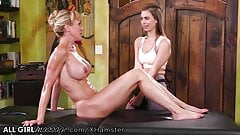 AllGirlMassage Brandi Love Taught Jill Kassidy How to Lick