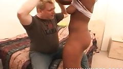 Slave Woman in Pain
