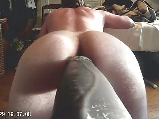 Mr. Hankeys El Rey 12 inch Cock Fucking Me Deep