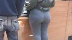 PAWG at Subway