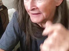 Grandma shows off