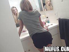 Mofos - Mofos B Sides - Amy Brooke - GF Teases Dudes Dick