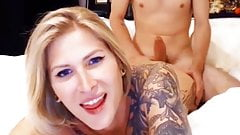 Webcam show pornstar TS Danni anal Sex