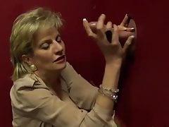 WORLD NYLONS Lady blow gloryhole wear nylons