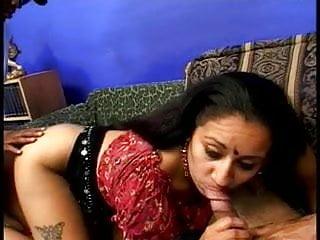 A plump deji slut with a fat ass sucks a few cocks and gets banged