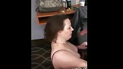 Wife gets 2 loads on face by BBC & Hubby.