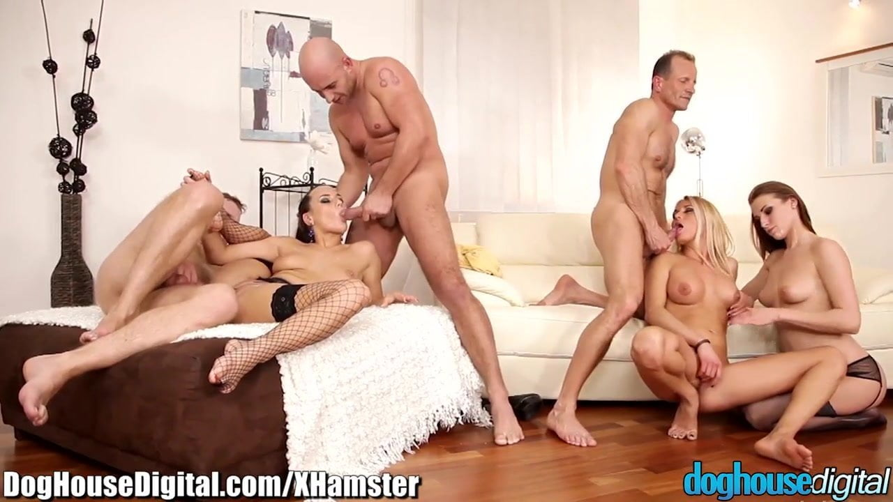 swingers orgie squirting clips