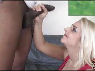 White busty MILF Mandy takes BBC