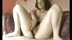Horny Chubby Teen masturbating her Hairy Pussy- TheBBWGF