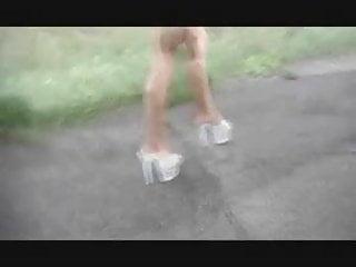Nude street walk 3