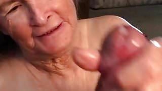 Grandma wants all your  cum
