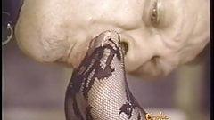Naughty dominatrix has her pus
