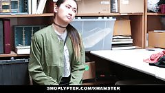 Shoplyfter - Asian Hottie Busted For Stealing