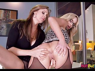 Lesbian Cougars at the Office
