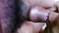 Hot Indian Aunty Prepare Her Partner's Small Cock By BJ