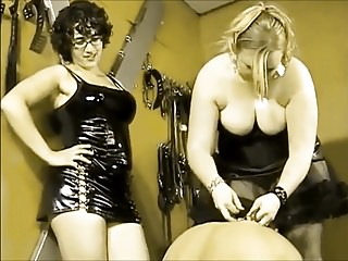 Slave Worships Mistres Ass <c>Recolored<d>