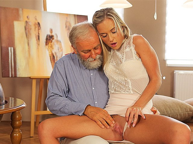 Free download & watch old k enticing blonde with ease seduces her old geography         porn movies