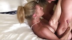 Naughty MILF Cougar with Young Neighbor On Vacation in USA