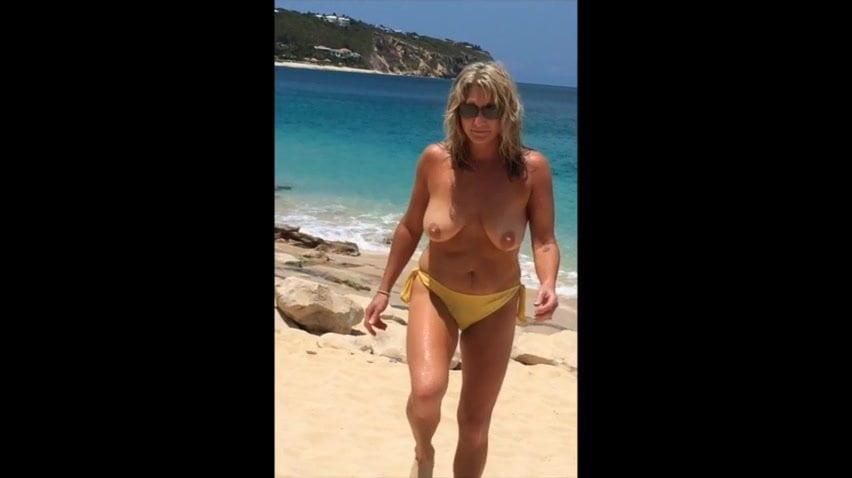 Wife Beach Porn