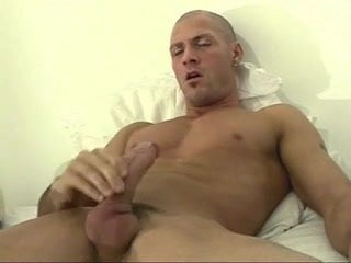 Yummy Stud Jacking Off Alone