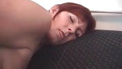 I am pierced - granny with hood piercings fucked by younger