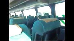 de viaje en bus