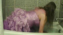 lavendar dress UW