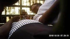 Sri Lankan Hot Office Teen Up-skirt