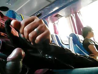 Flashing in bus India