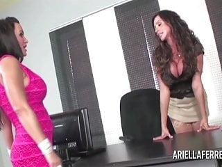 Ariella Interviews Lisa Ann For Secretary
