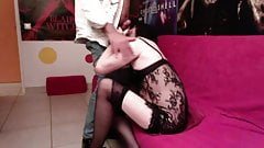 Johanne  shemale Crossdresser Fucked by Older Master