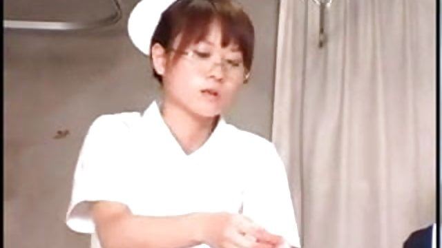 Japanese student nurses training and practice free porn