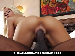 SheWillCheat - Slutty Wife Gargles BBC