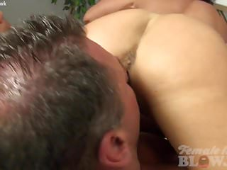 Female bodybuilder porn video - Nude female bodybuilder takes two loads and loves it