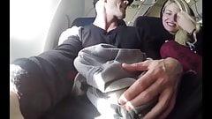 Girlfriend Sucks Cock on a Plane