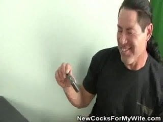 Husband Watches As Wife Gets Fucked And Jizzed