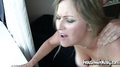 Stunning wife shared with 3 big cocks (1)