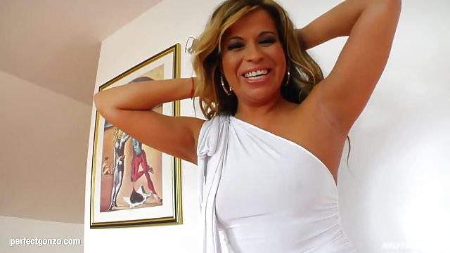 Preview 1 of MILF mature hottie Afrodite fucked hard in gonzo style at
