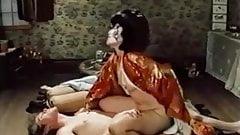 John Holmes, Ric Lutze, Sharon Thorpe in classic xxx scene