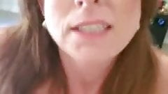 First pic sexy mom cums riding me