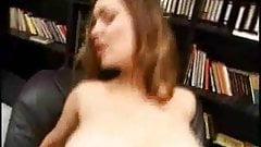 Naturally huge and busty girl Ornelia gets fucked by Vince Voyeur