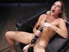 California Dreaming and Machine Fucking with Carter Cruise's Thumb