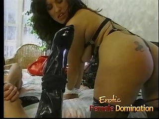 Dungeon master has fun with two hot slave girls at once