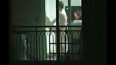 Voyeur on Korean couple