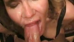 Face Fucking and Messy Facial
