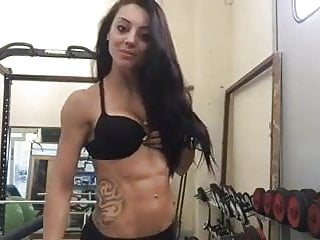 very sexy fitness lady