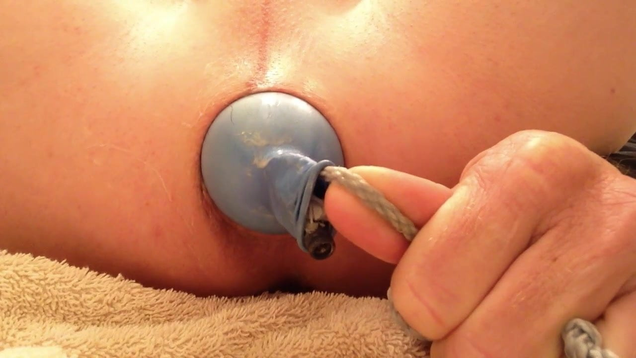 Self made anal machine