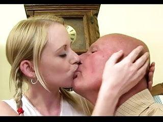 Grandpa fuck his young Girlfriend (Creampie) Part I