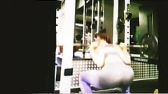 Bubble butt teens candid at the gym part 2
